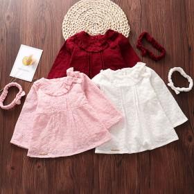 宝宝连衣裙0-1-2岁女童婴儿裙子