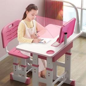 学习桌【加宽加厚】儿童学习桌椅可升降小学生写字桌椅