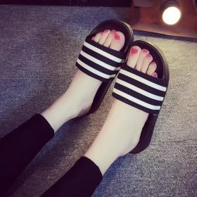 双新品ins超火的情侣拖鞋夏室内潮可爱个性