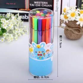 丰图36色可水洗水彩笔 筒装画笔 儿童绘画用品画具