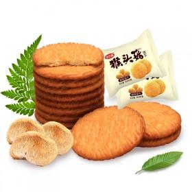 猴头菇饼干1000g曲奇酥性饼干