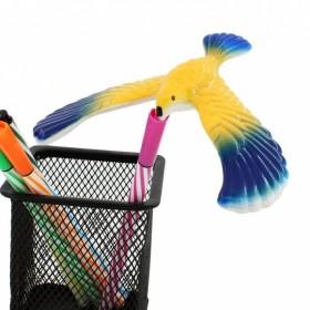 玩具平衡鸟益智不倒翁科教迷你复古80后怀旧金字塔热