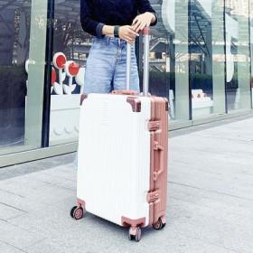 铝框行李箱ins网红拉杆箱万向轮密码旅行箱皮箱子