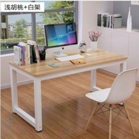 家用卧室钢木桌经济型简约电脑桌现代新品书桌学习桌