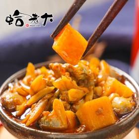 莲藕蛤蜊下饭酱2瓶即食麻辣小海鲜小孩孕妇海味零食