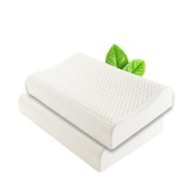 一对装泰国进口天然乳胶枕头护颈按摩乳胶枕颈椎枕