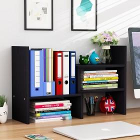 伸缩桌面书架收纳简易多层桌上置物架省空间学生用简约