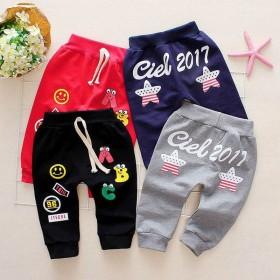 男女童0-6岁新款运动裤春秋宝宝裤子儿童单裤