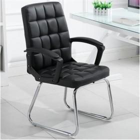 电脑椅家用办公椅弓形会议椅书房皮椅学生椅子麻将椅