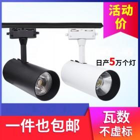 rs1)特价款12W黑色暖光,射灯吸顶led聚光灯