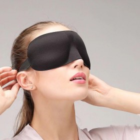 睡觉透气3d立体眼罩女可爱韩版学生睡觉睡眠遮光卡通