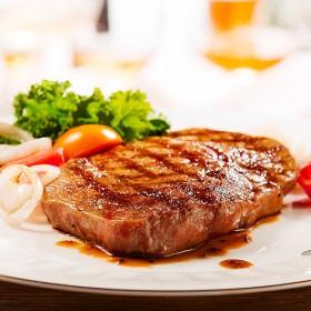 20片2000g澳洲牛排黑椒牛肉新鲜菲力儿童雪花牛