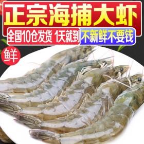 6.6斤整盒进口虾鲜活海鲜水产超大虾基围虾活虾鲜虾