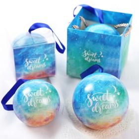 欧式森系创意婚庆包装马口铁圆球形盒子婚礼糖果礼品盒