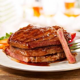 团购20片1000g澳洲进口调理牛排菲力黑椒套餐