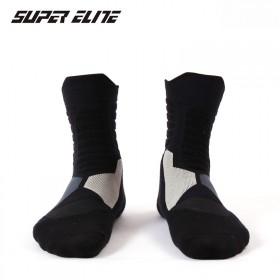 SUPER ELITE精英运动篮球袜专业高筒拉毛