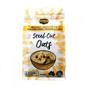 澳洲进口刚切燕麦粒健身代餐早晚餐粗粮无糖谷物