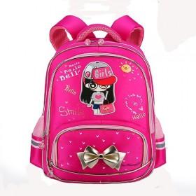 书包女小学生男孩2-6年级防水安全反光儿童背包