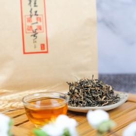 叶凌春茶叶凌云桂红一号红茶富硒有机红茶250g袋装