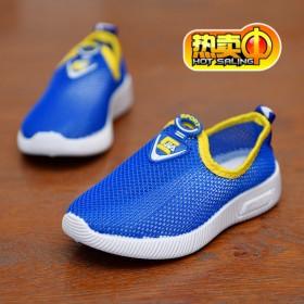 儿童软底网鞋夏季中大童运动凉鞋学生透气轻便休闲鞋