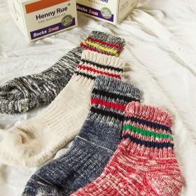 5双装100多款任选纯棉羊毛袜子中筒袜个性潮人秋季