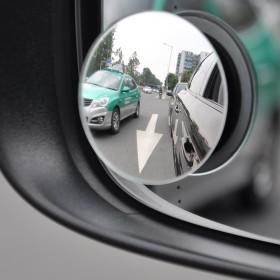 汽车后视镜小圆镜小车360度倒车盲区反光镜