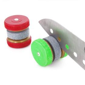 圆形磨刀器 圆形磨刀石 家用磨刀石
