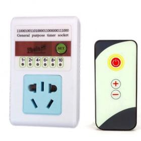家用无线智能遥控订时器开关插座