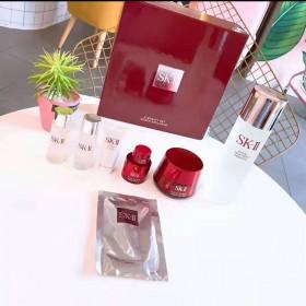 【中秋送礼佳品】SK2八件套神仙水大红瓶面霜套装