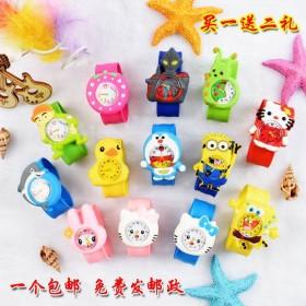 儿童小礼品手表拍拍表卡通儿童玩具手表电子表幼儿手表