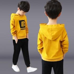 男童套装春秋款男中童两件套儿童运动服4-13岁