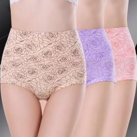 品彩高腰收腹内裤女士提臀产后塑身形翘臀内裤