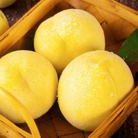 山东蒙阴新鲜大黄桃现摘现卖5斤包邮孕妇水果