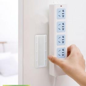 新款壁挂式排插固定器 创意免打孔便携式强力无痕插板