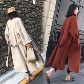 赫本风秋季毛呢外套