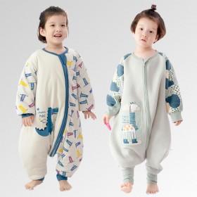 【秋冬2 件套餐】呼西贝儿童分腿睡袋 春秋和冬款