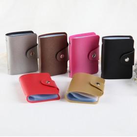 24卡位韩版女士多卡位卡包防消磁卡套男名片夹银行卡