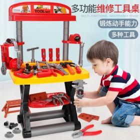 儿童工具箱玩具套装男孩仿真维修工具修理箱3-6岁5