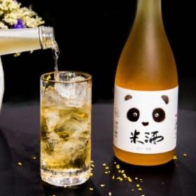 低度糯米甜酒桂花酒