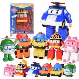 [查看拍下须知]变形警车珀利城市救援队模型玩具