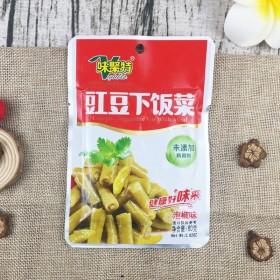 【10袋】味聚特泡椒味豇豆下饭菜80g