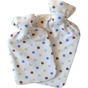 PVC热水袋配棉布套(1升/2升可选)