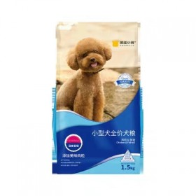 狗粮通用性3斤装泰迪比熊博美雪拉瑞幼犬小型犬