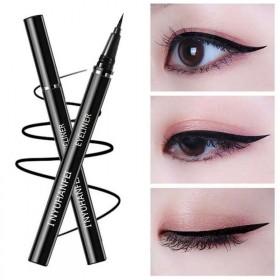 眼线笔防水晕染持久速干大眼极细液笔防汗不不脱色胶笔