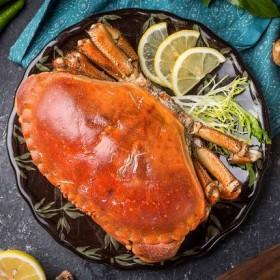 熟冻面包蟹鲜活超大2份4斤即食特大珍宝蟹海鲜香辣黄