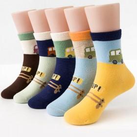 秋冬优质儿童袜子男女童宝宝小孩中筒袜男女童保暖袜子