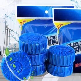 30枚蓝泡泡洁厕灵厕所清洁剂马桶去异味洁厕宝洁厕剂