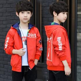 【两面穿】男童春秋装外套夹克