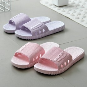 双新品家用室内拖鞋浴室洗澡防滑拖鞋男女情侣外穿凉拖