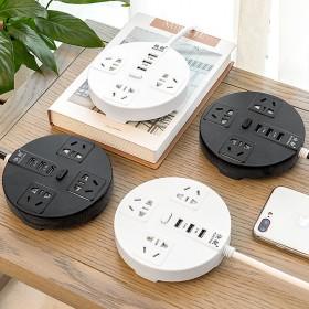 家用多功能创意USB插座排插排多孔转换器接线板延长